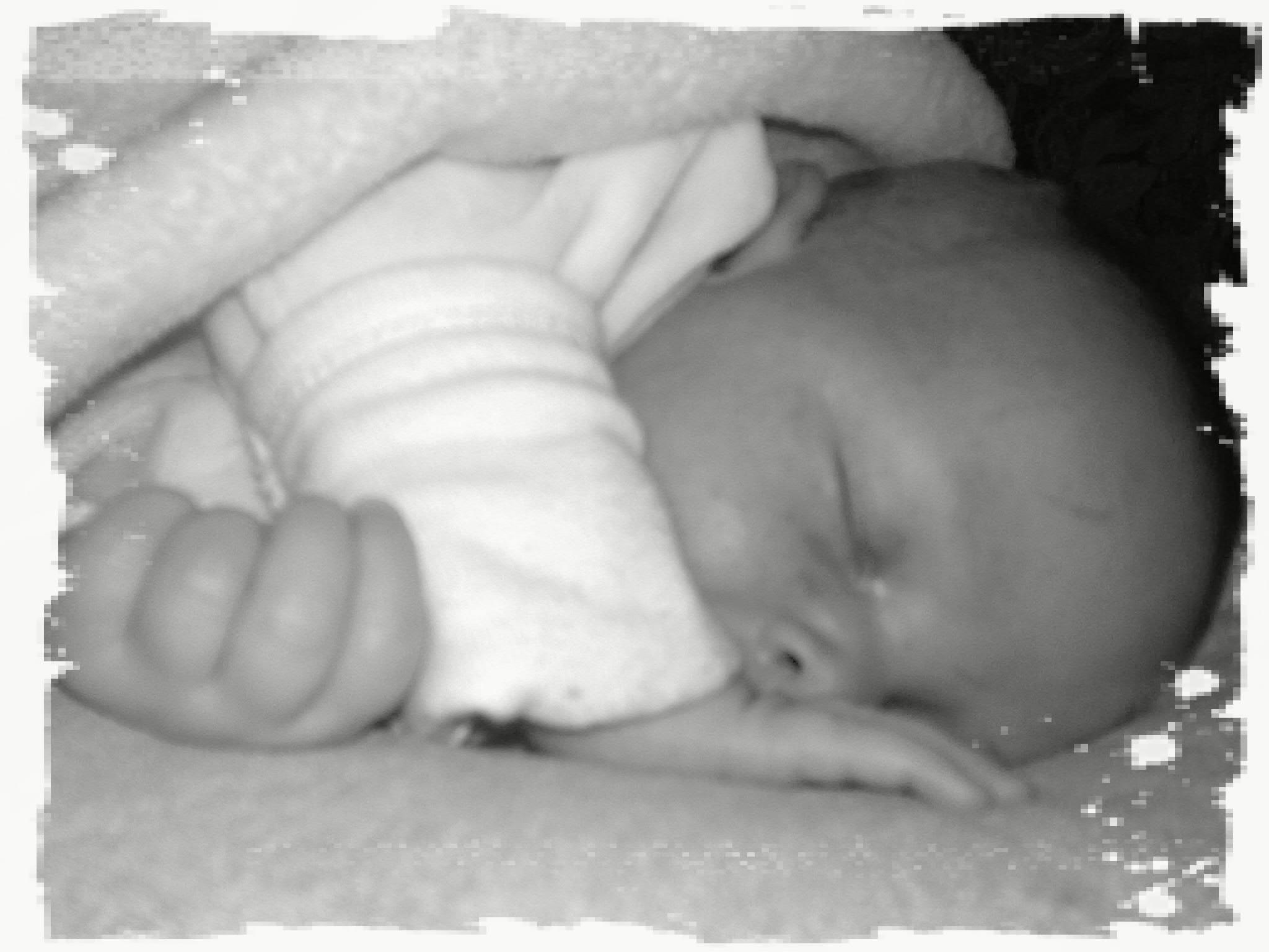 …wenn kleine Engel schlafen