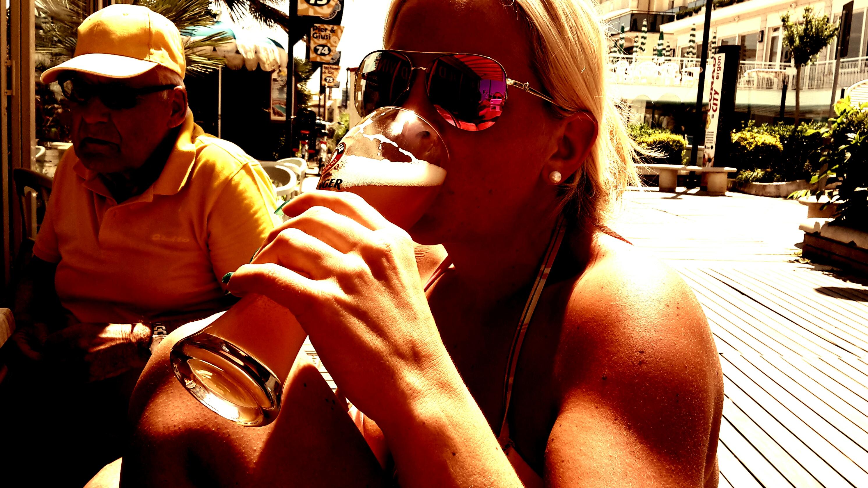 A Weißbier in da Sun